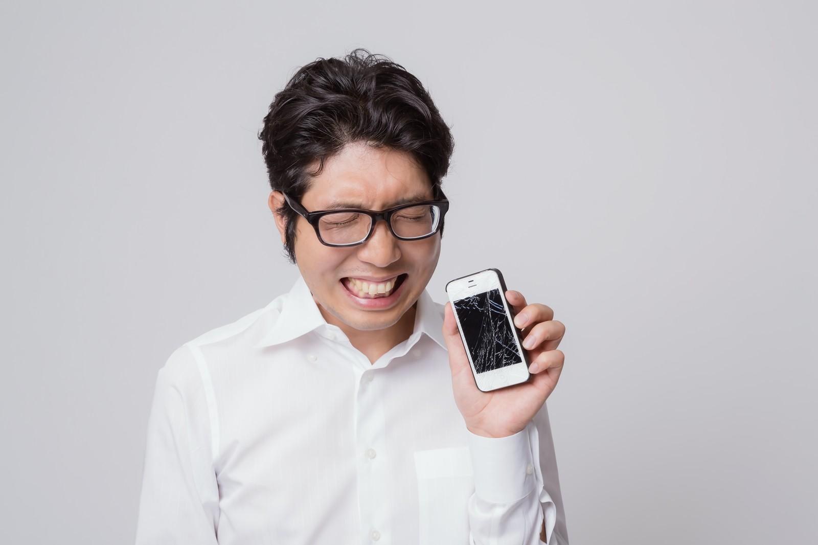 悔しいiPhoneの故障