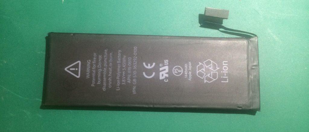 リチウムイオン2次電池の写真