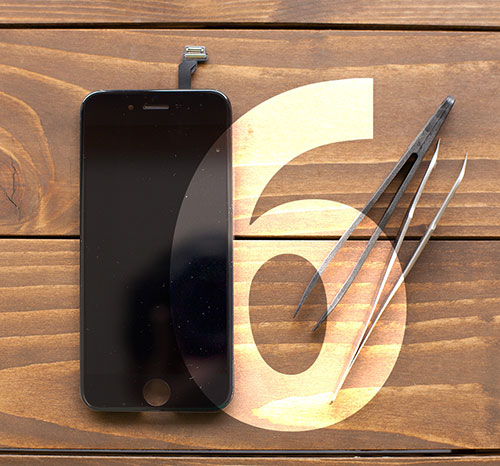 iPhone6のフロントパネル画像
